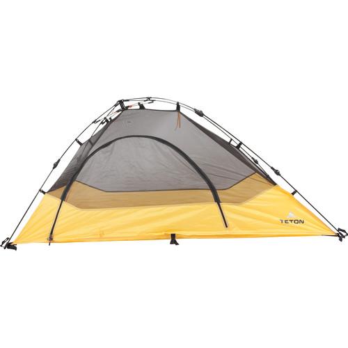 TETON Sports Outfitter XXL Quick Cot 1-Person Tent (Orange/Gray)