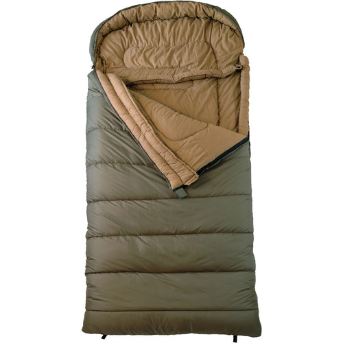 TETON Sports Celsius -18°C/0°F XXL Sleeping Bags (Green, Left Hand Opening)