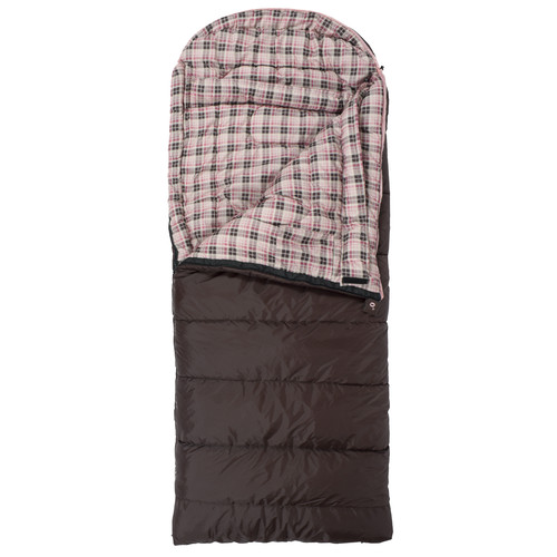 TETON Sports Celsius Junior -7°/20°F Sleeping Bag (Brown / Right Hand Opening)