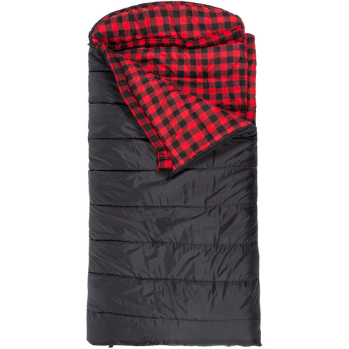 TETON Sports Celsius -18°C/0°F XXL Sleeping Bags (Black, Right Hand Opening)