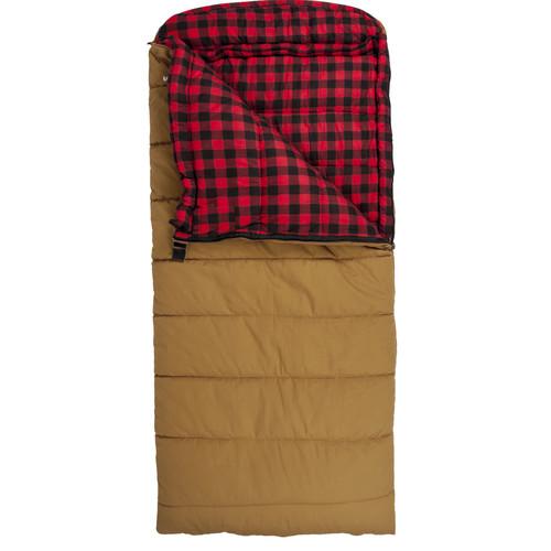 TETON Sports Deer Hunter Sleeping Bag (Brown, Left-Hand)