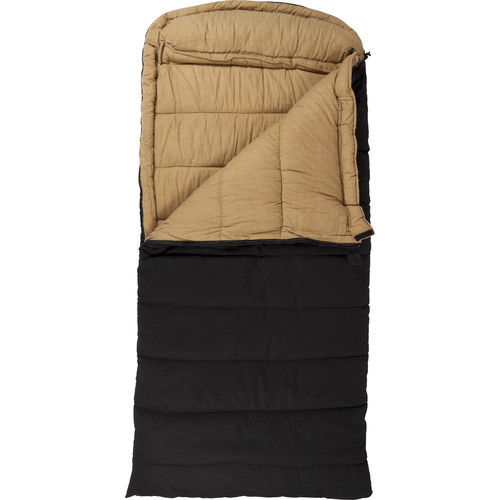TETON Sports Deer Hunter Sleeping Bag (Black, Left-Hand)