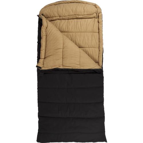 TETON Sports Deer Hunter Sleeping Bag (Black, Right-Hand)