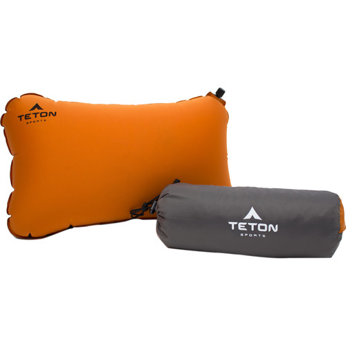 TETON Sports Comfortlite Self-Inflating Pillow (Orange)