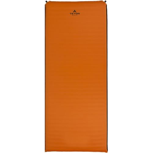 TETON Sports ComfortLite Regular-Sized Self-Inflating Camp Pad (Orange)