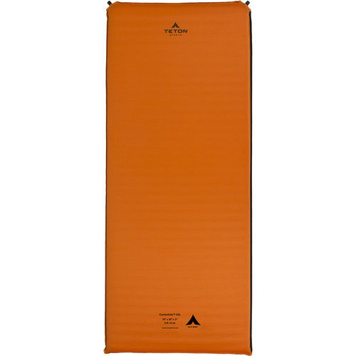 TETON Sports ComfortLite XXL-Sized Self-Inflating Camp Pad (Orange)