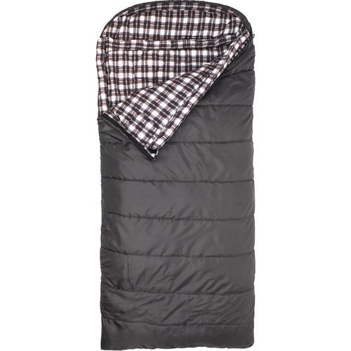TETON Sports Fahrenheit 20° Sleeping Bag (Gray, Left-Hand)