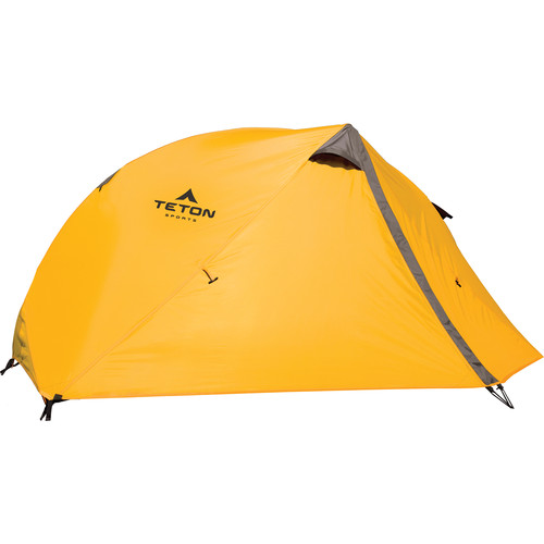 TETON Sports Mountain Ultra 1 Backpacking Tent (Orange/Gray)