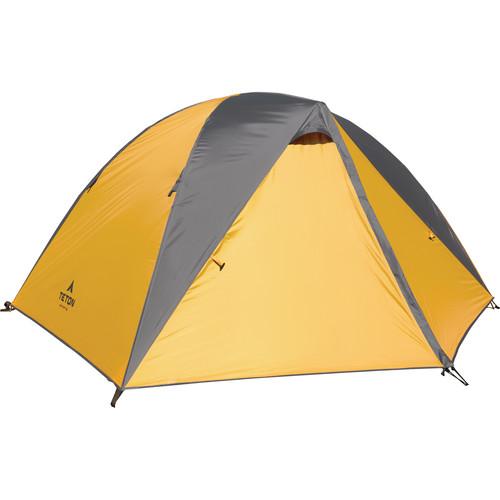 TETON Sports Mountain Ultra 4 Backpacking Tent (Orange/Gray)