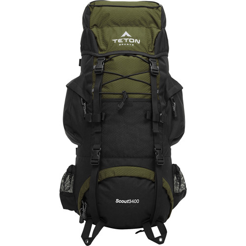 TETON Sports Scout3400 Internal Frame Backpack (Hunter Green)