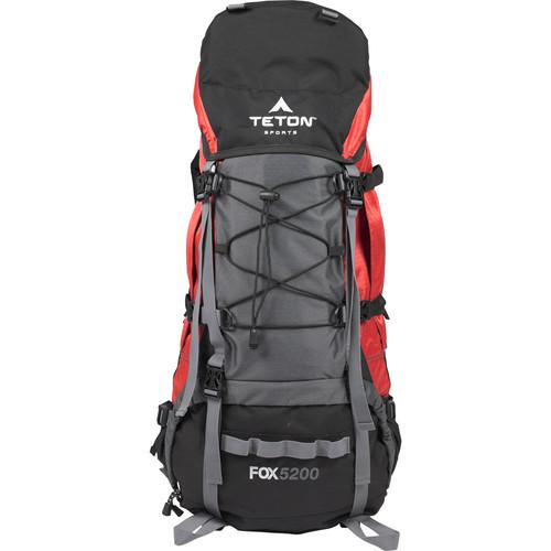 TETON Sports Fox5200 Internal Frame Backpack (Mars Red)