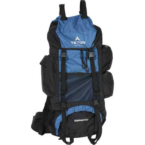 TETON Sports Explorer4000 Internal Frame Backpack (Navy Blue)