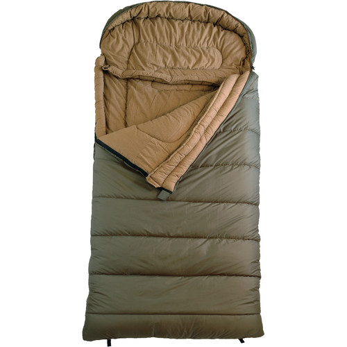 TETON Sports Celsius Regular -18°C/0°F Sleeping Bag (Green / Left Hand Opening)