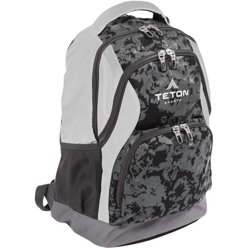 TETON Sports Session Tech 25L Backpack (Black & White)