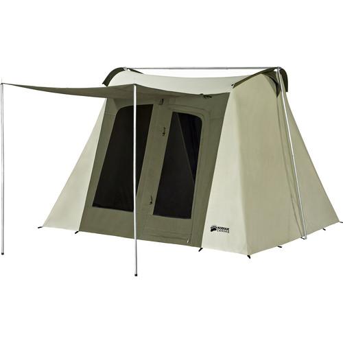 Kodiak Canvas Flex-Bow Canvas Tent Deluxe (10 x 10', 6-Person)