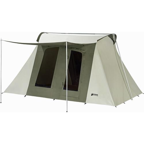 Kodiak Canvas Flex-Bow Canvas Tent Deluxe (10 x 14', 8-Person)
