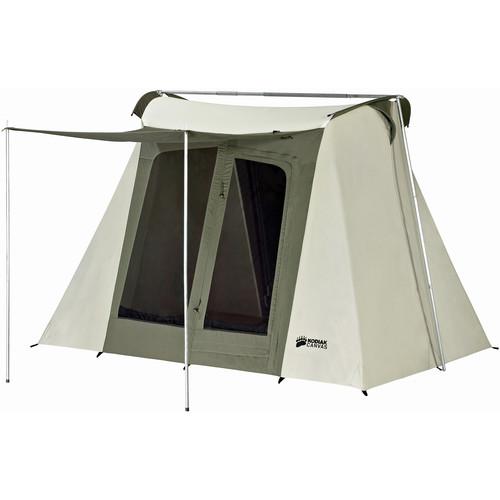 Kodiak Canvas Flex-Bow Canvas Tent (9 x 8', 4-Person)