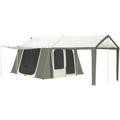 Kodiak Canvas Cabin Tent with Deluxe Awning (12 x 9', Six-Person)