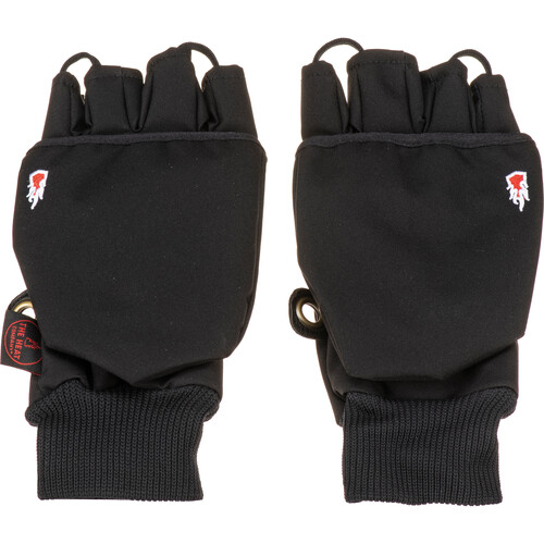 The Heat Company Heat 2 Softshell Mittens/Gloves (Size 7, Black)
