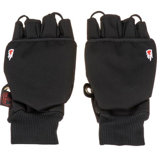 The Heat Company Heat 2 Softshell Mittens/Gloves (Size 10, Black)