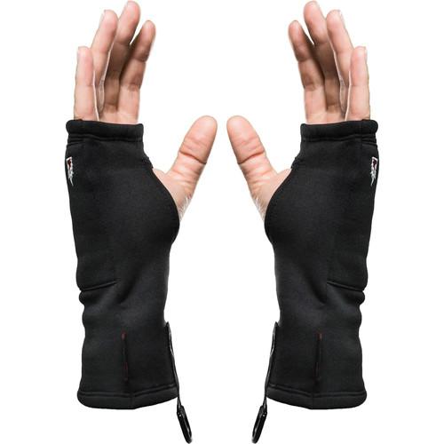 The Heat Company Heat Tube Fingerless Gloves/Liners (Extra-Small)
