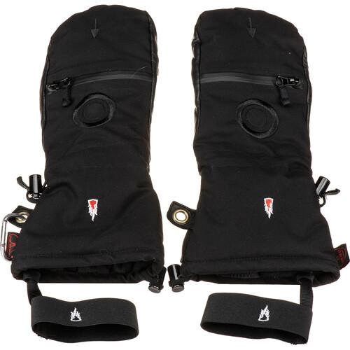 The Heat Company Heat 3 Smart Mittens/Gloves (Size 6, Black)