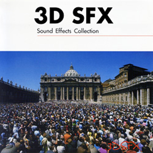 The Hollywood Edge 3D SFX Sound Effects Collection (Download, 24-Bit/48 kHz)