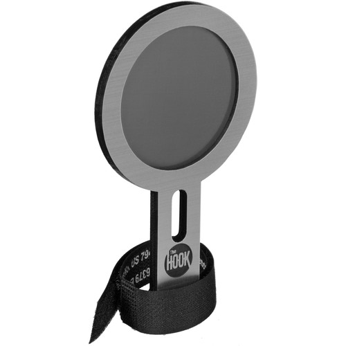 The Hook Studios 275MP Mini Pop Filter (Small Round, Silver)