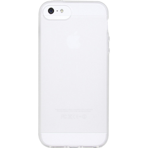 The Joy Factory Cameron Soft-Grip Case for the iPhone 5 (Frosted Clear)