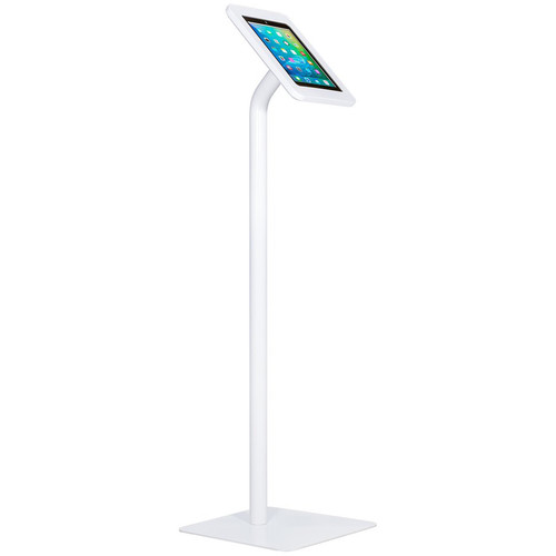 The Joy Factory Elevate II Floor Stand Kiosk for iPad 9.7 5th Gen & iPad Air (White)