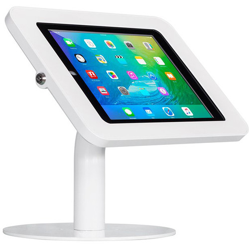 The Joy Factory Elevate II Countertop Kiosk for iPad 9.7 5th Gen & iPad Air (White)