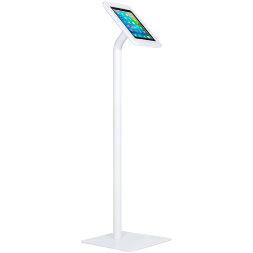 """The Joy Factory Elevate II Floor Stand Kiosk for iPad Air 3rd Gen and Pro 10.5"""" (White)"""