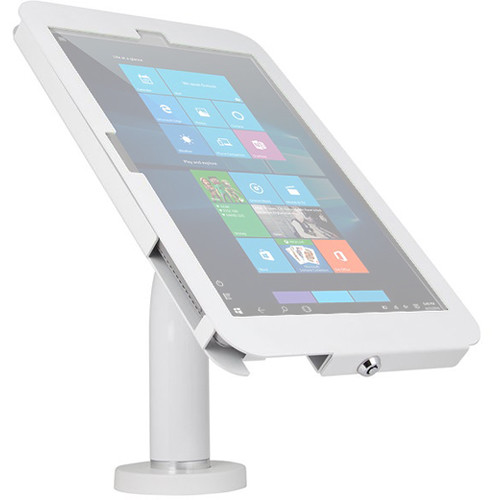 The Joy Factory Elevate II Wall/Countertop Mount Kiosk for Surface Pro 4/3 Tablet (White)