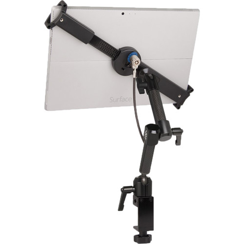 The Joy Factory LockDown Universal C-Clamp Dual Arm Mount with Key Cable Lock