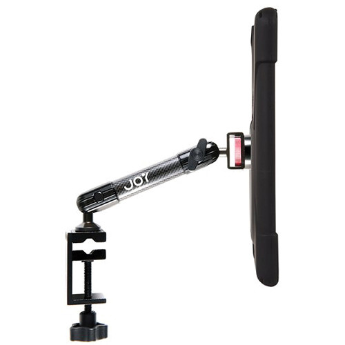 The Joy Factory MagConnect Carbon Fiber C-Clamp Mount with aXtion Bold M-Series Case for iPad Air