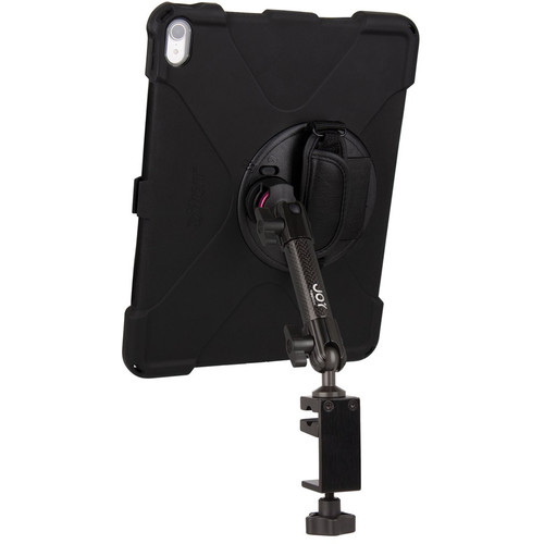"""The Joy Factory MagConnect Carbon Fiber Bold MP C-Clamp Mount for iPad Pro 12.9"""" 3rd Gen"""