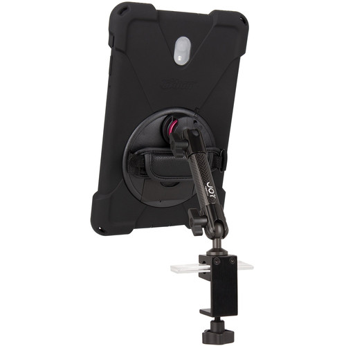 """The Joy Factory MagConnect Carbon Fiber Bold MP C-Clamp Mount Bundle for Samsung Galaxy Tab A 10.5"""""""