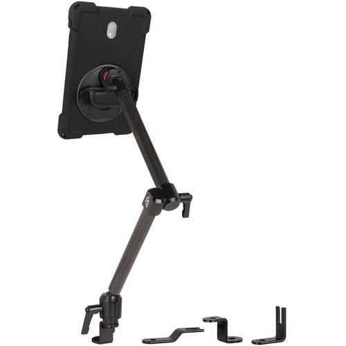 The Joy Factory MagConnect Dual Carbon Fiber Arm Bold MP Seat Bolt Mount for Samsung Galaxy Tab A 10.5""
