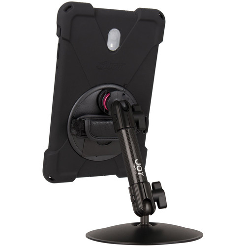 """The Joy Factory MagConnect Carbon Fiber Arm Bold MP Desk Stand Bundle for Samsung Galaxy Tab A 10.5"""""""