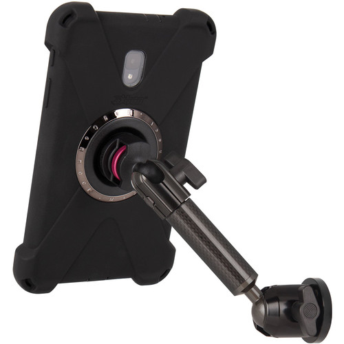 """The Joy Factory MagConnect Carbon Fiber Single Arm Bold M Wall with Cabinet Single Arm Mount for Galaxy Tab A 8"""""""
