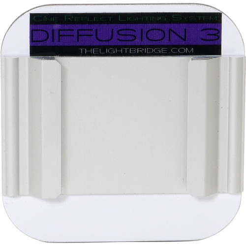 "The LightBridge Diff 3 Ambient Violet C-Reflector with Speedrail for C-Wheel & C-Spigot (2.75 x 2.75"")"