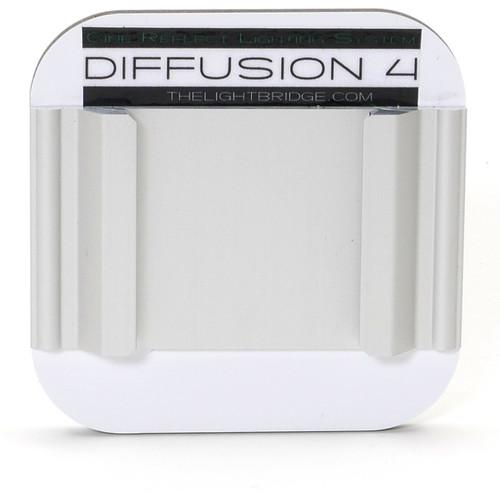 "The LightBridge Diff 4 Super White C-Reflector with Speedrail for C-Wheel & C-Spigot (2.75 x 2.75"")"