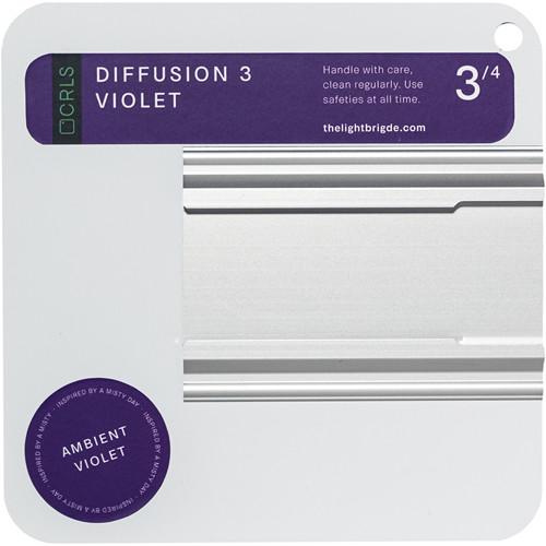 "The LightBridge Diff 3 Ambient Violet C-Reflector with Speedrail for C-Wheel & C-Spigot (5.9 x 5.9"")"