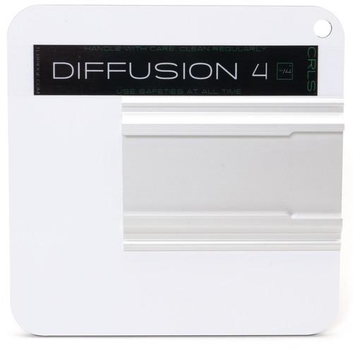 "The LightBridge Diff 4 Super White C-Reflector with Speedrail for C-Wheel & C-Spigot (5.9 x 5.9"")"