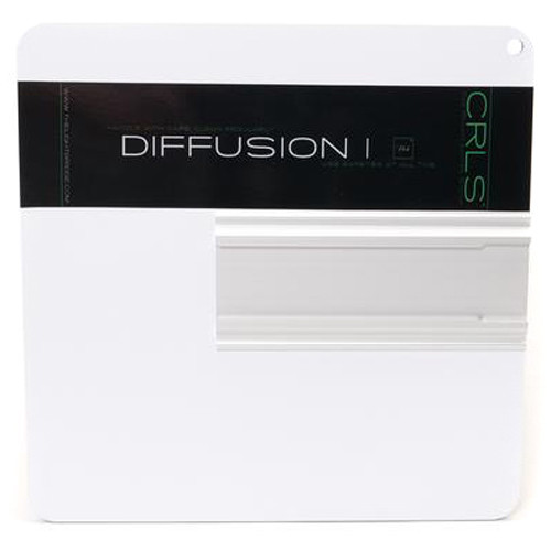 "The LightBridge Diff 1 Black Punch C-Reflector with Speedrail for C-Wheel & C-Spigot (9.8 x 9.8"")"