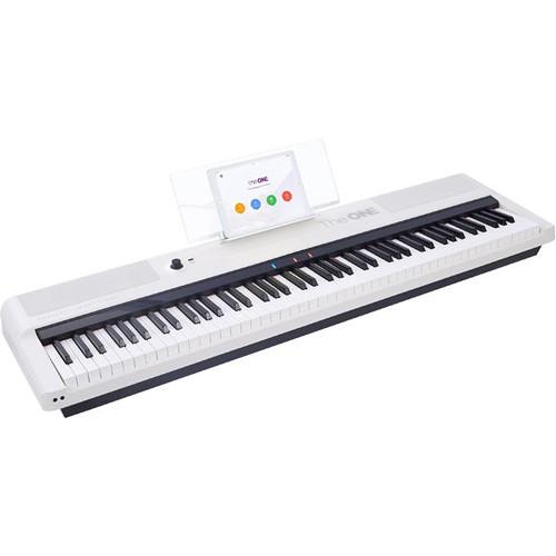 The ONE Smart Keyboard Pro 88-Key Digital Piano (White)