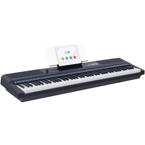 The ONE Smart Keyboard Pro 88-Key Digital Piano (Black)