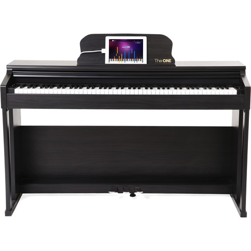 The ONE Smart 88-Key Home Digital Piano (Matte Black)