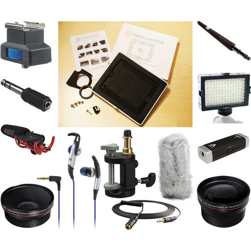 THE PADCASTER Padcaster & Lenscaster Deluxe Kit