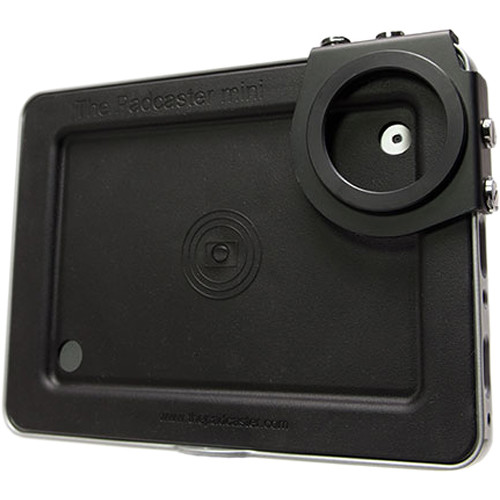 THE PADCASTER Padcaster & Lencaster Combo for iPad 2nd, 3rd & 4th Gen